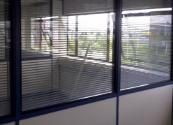 Part Glazed Office Partition